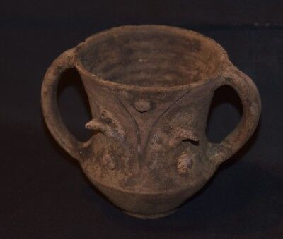 Very rare Pottery Iron Age Ritual cup circa 900 - 600 BC - Museum quality