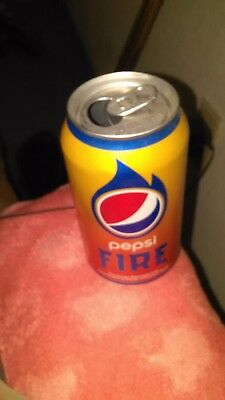 "collectible pepsi ""Fire""can"