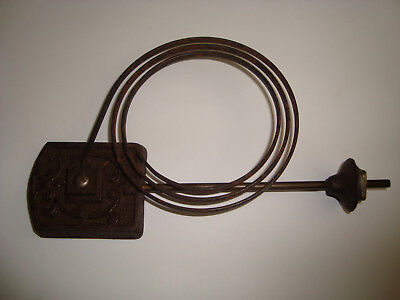 Antique Clock Chime Gong 190 x 102mm LOT 46