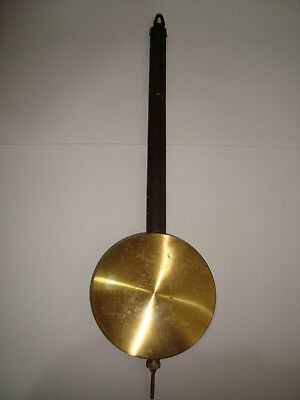 Antique Clock Pendulum For Wall Clock 80g 85mm Diameter 312mm Long LOT 50