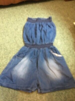 Candy Couture Denim Playsuit Age 16 Years