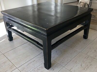 Asian Antique Chinese Coffee Table Black