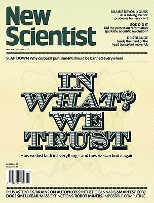NEW SCIENTIST MAGAZINE 28th OCT 2017 ~ SPECIAL OFFER BUY ANY 6 ISSUES FOR £10.00