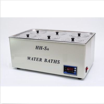 1500W Digital Thermostatic Water Bath 6 Hole Fast Shipping