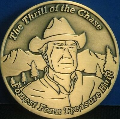 Forrest Fenn Searcher Coin #695 - The Thrill of the Chase