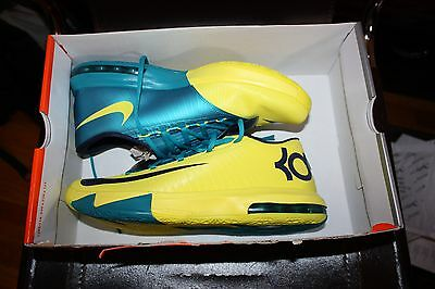 cfe16dc58fa VNDS NIKE KD VI 6 PB J Peanut Butter   Jelly Yellow Orange 599424 ...