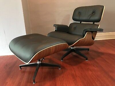 Herman Miller AUTHENTIC EAMES Lounge Chair and Ottoman-An icon of modern design!