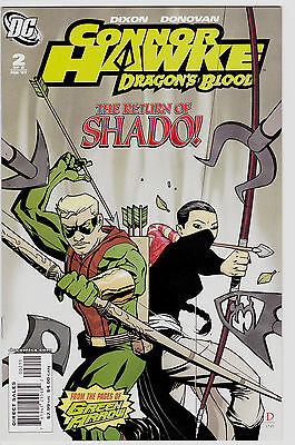 Conner Hawke Dragon's Blood #2 From The Pages Of Green Arrow Shado