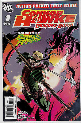 Conner Hawke Dragon's Blood #1 From The Pages Of Green Arrow Shado