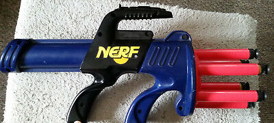 Rare-1993 NERF ARROWSTORM-No vent slits!--Arrows and Mega Darts--Great Condition