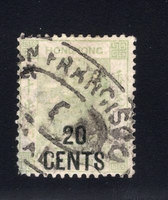 1891 Hong Kong. SC#52. SG#45. Used, Fine Very Fine.