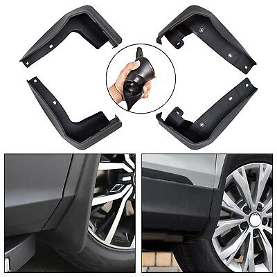 4Pcs Front and Rear Splash Mud Guard Flaps for 2016-2018 10th Gen Honda Civic X