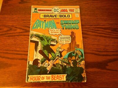DC Comics The Brave and the Bold Presents Batman and Swamp Thing #122 Bronze Age