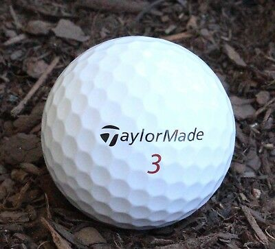 50 Taylormade Tour Preferred X Excellent Condition Golf Balls