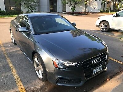 Audi: A5 S-Line Audi A5 S-Line | WARRANTY, NAV, PUSH BUTTON START, SUNROOF, and more