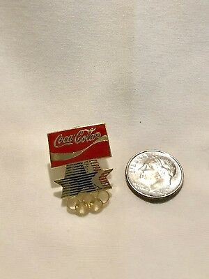 1982 Coco Cola Olympic Pin