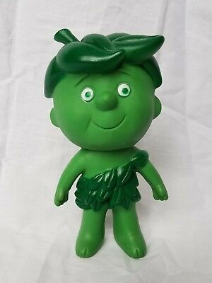 """Vintage 1970's Green Giant Lil Sprout 6.5"""" vinyl doll Figure"""