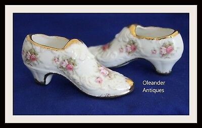 Paragon Victoriana Rose Decorative Porcelain shoes