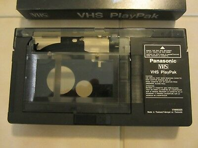 Panasonic PlayPak VHS-C To VHS VCR Tape Adapter Converter