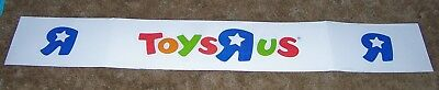 "TOYS R US Retail Store Display Sign 58"" x 10"""