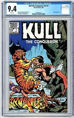 Kull the Conqueror #v3 #1 CGC 9.4 Bruce Jones and April Campbell Story phl1