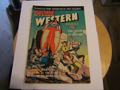 Space Western #40 / Golden Age / 1952