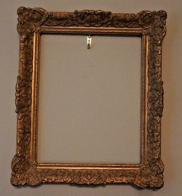 Antique Gesso Picture Frame for Painting Perfect