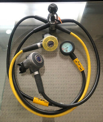 BARGAIN* SCUBA Mares Axis Pro Regulator Set First & Second Stage + Occy  + Gauge