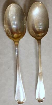 Flemish Pattern Sterling Silver, 1911 by Tiffany and Company TWO (2 Teaspoons 6""