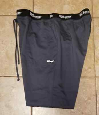 Grey's Anatomy Active Scrub Pants ~  Size Xl ~ Excellent Condition ~ Gray