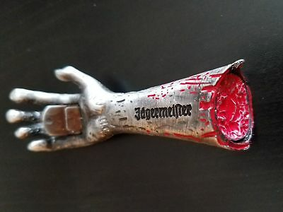 Jagermeister Zombie Magnetic Bottle Opener, severed bloody hand