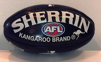 Carlton Football Club Mini AFL, Australian Rules Sherrin Football 20cm