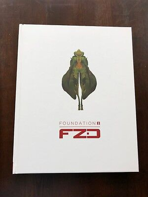 FZD Foundation 2 Rare Signed Feng Zhu Design School Art Book Out of Print