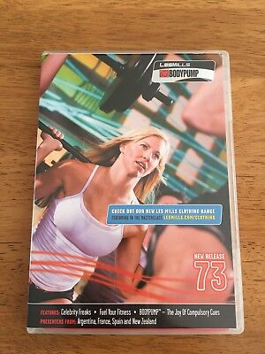 Les Mills Body Pump 73 Cd/dvd And Notes