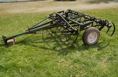 Oliver 200 Field Cultivator, Oliver 200 Spring Tooth Harrow, Disc, Harrow, plow
