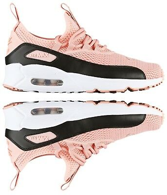 3f1b66e227 Nike Air Max 90 Ez Girl's Casual Coral Stardust - Black - White Authentic  New
