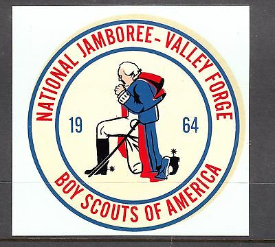 UNITED STATES 1964 National Jamboree=Valley Forge Sticker in MINT CONDITION
