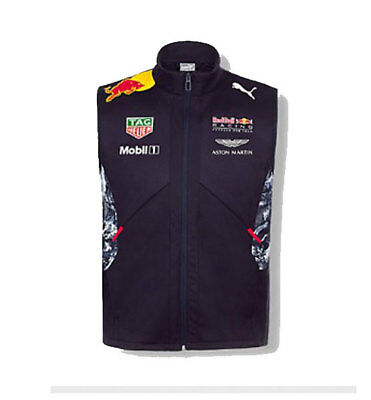 Red Bull Racing Mens Team Gilet Formula 1 Sizes S,m,xl Only