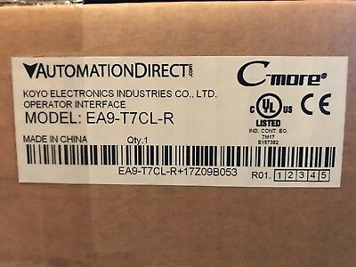 Automation Direct EA9-T7CL-R, HMI touch screen