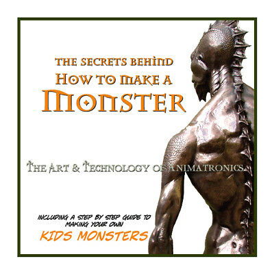 Movie memorabilia - 'The Secrets Behind - How to Make a Monster' BOOK