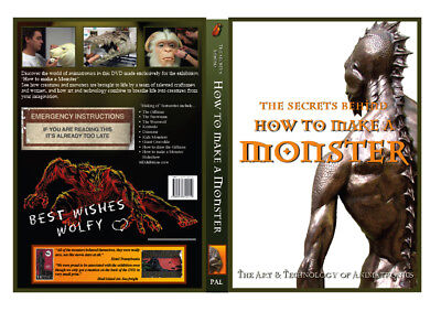 Movie memorabilia - 'The Secrets Behind - How to Make a Monster' NTSC DVD