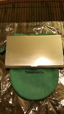 Tiffany & Co. Sterling Silver Card Case Prof. Refurbished