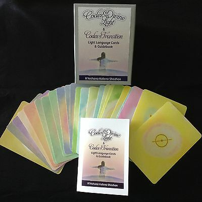 Codes of Divine Light & Codes of Transition 24 Spiritual Cards Healing Vibration
