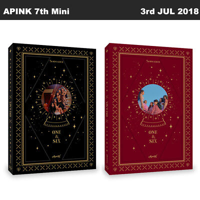 APINK One&Six 7th Mini Album Random Ver CD+Poster+Booklet+PhotoCard KPOP Sealed