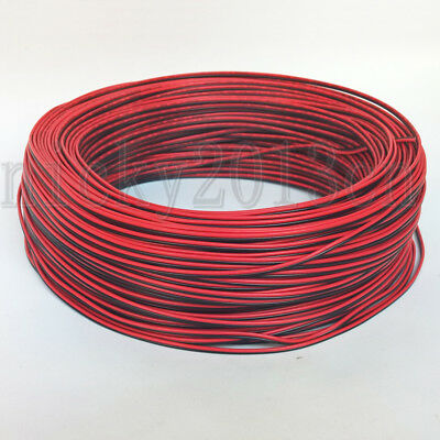2Pin Extension Wire 20AWG Red Black Cable Connector for LED Strip Light