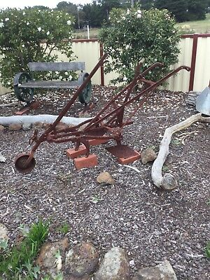 Vintage Plough Horse Drawn Steel In Excellent Original Condition Down Sizing.