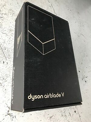 Dyson Airblade V Hand Dryer AB12 - White - NEW