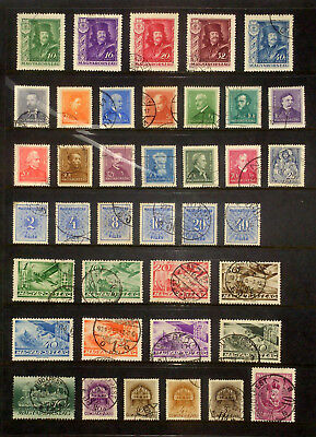 Page of earlier stamps & sets from Hungary #2