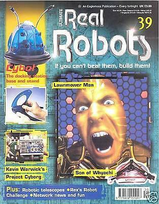 Ultimate Real Robots Magazine Issue 39 - Lawnmover Man
