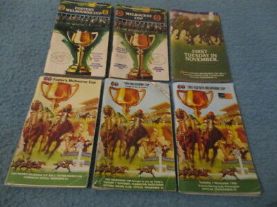 Melbourne Cup Racebooks -  90's -  Six In Total